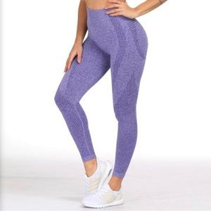 GymShark vital purple leggings high waist